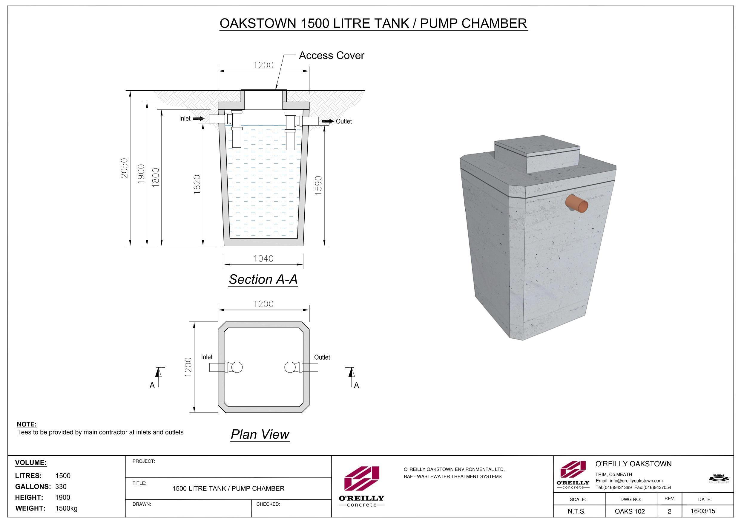 1500L Tank-Pump Chamber-R2-Large