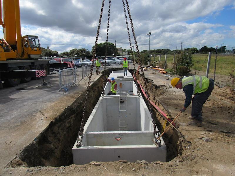 Concrete Tanks Oakstown O Reilly Tanks Sewage