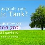 upgrade my septic tank