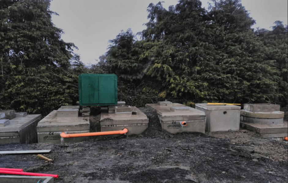 Super BAF concrete WWTS system