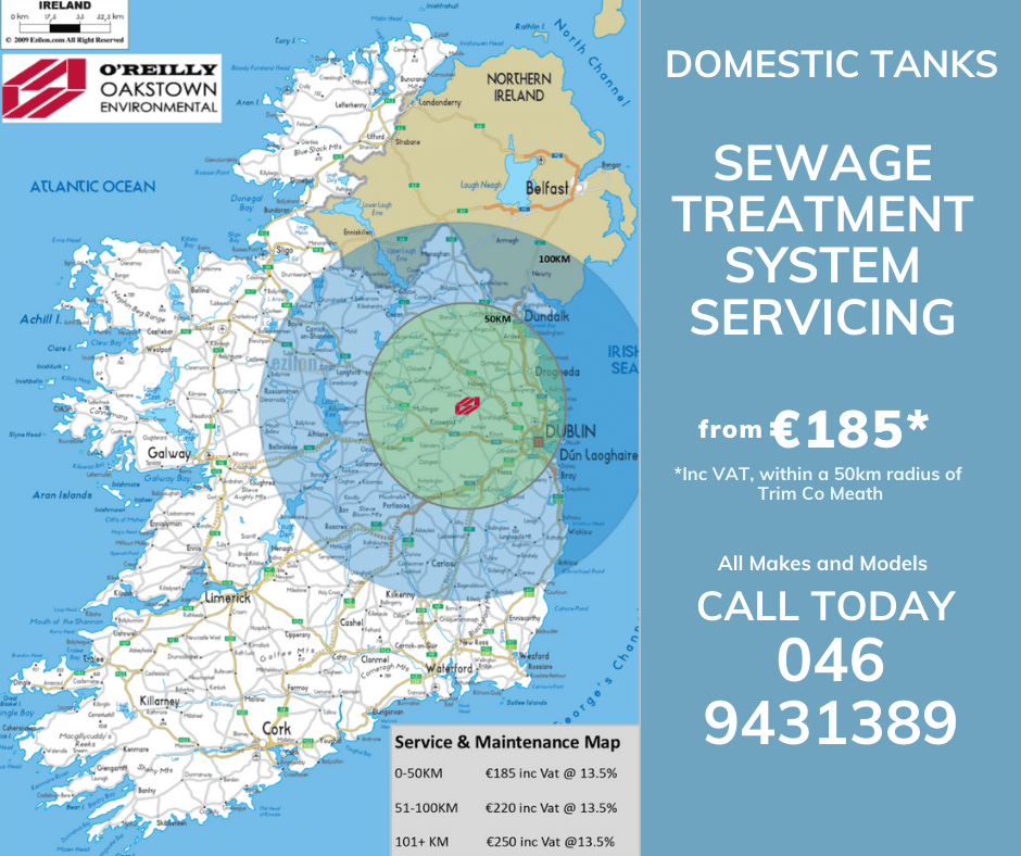 Image of locations for Oakstown Sewage Treatment System Services