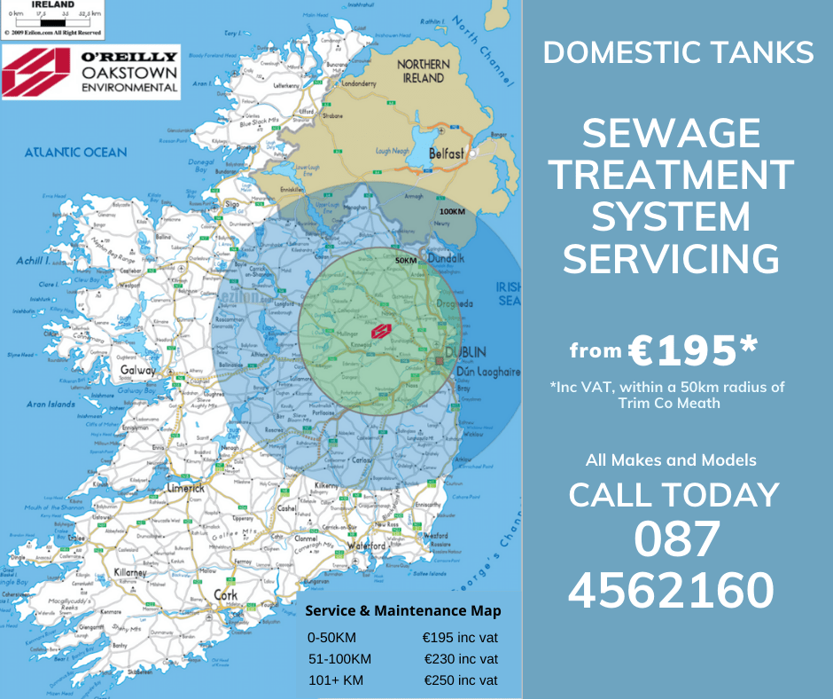Oakstown Sewage Treatment Servicing Costs 2021